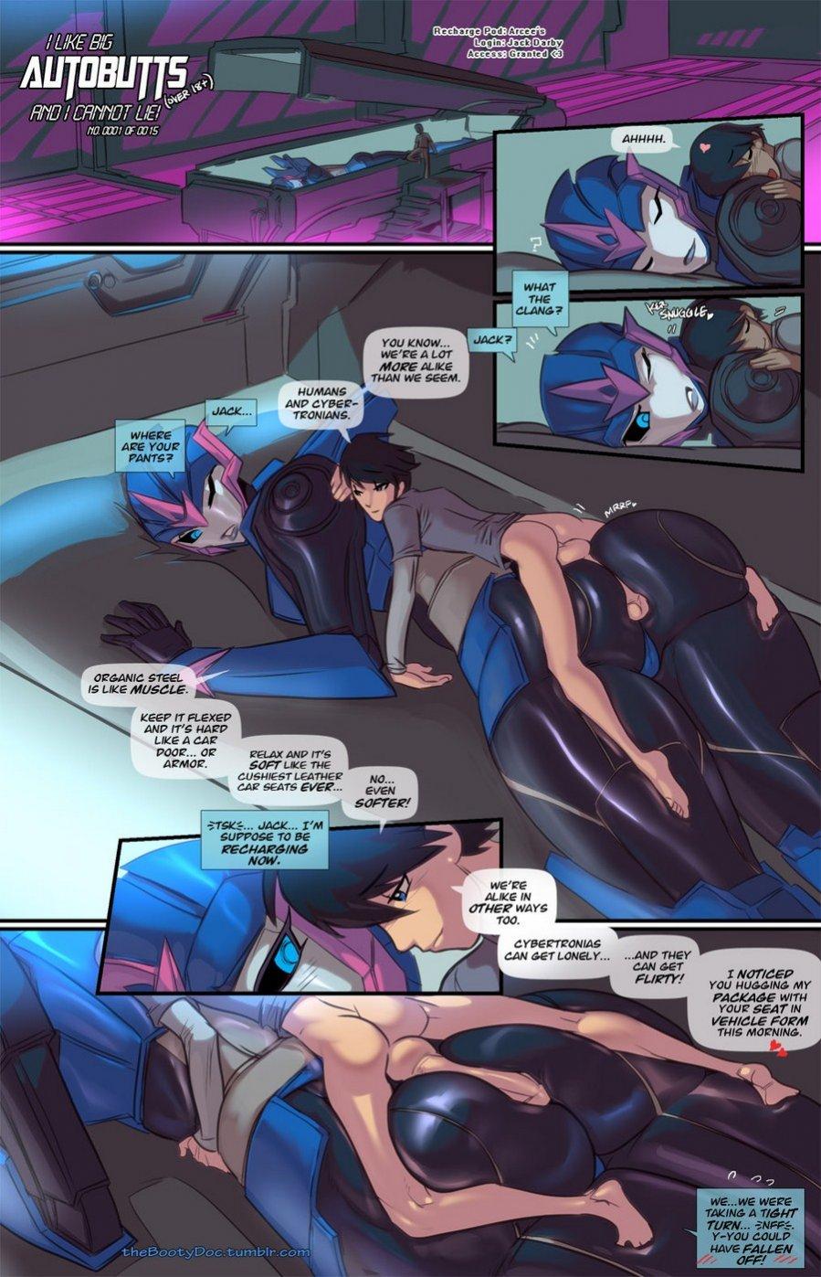 Transformers porn comics