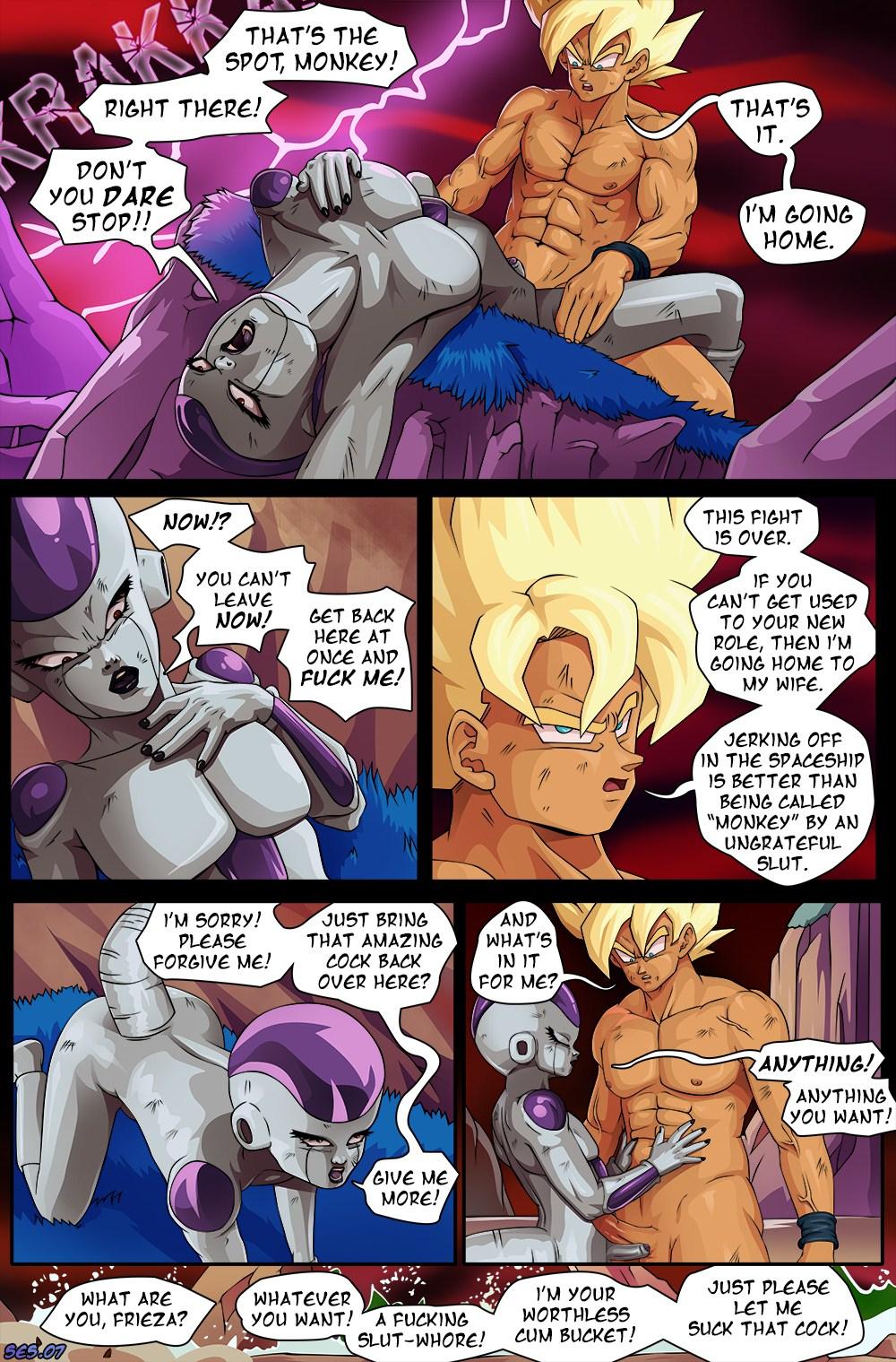 ball comic dragon sex z