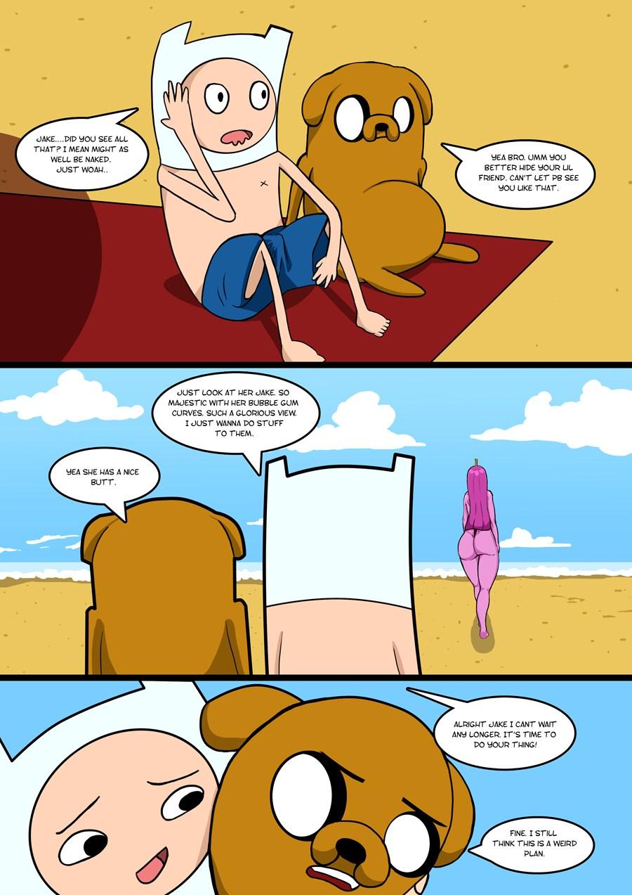 adventure time porn comic