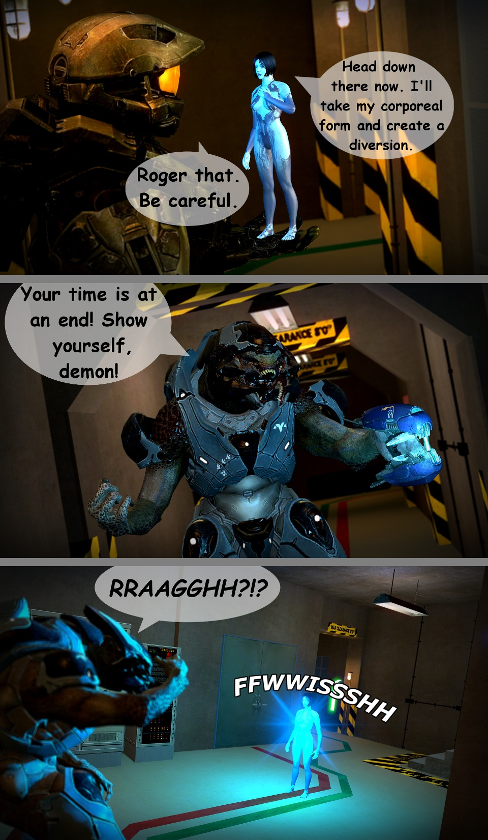 Halo porn comics online