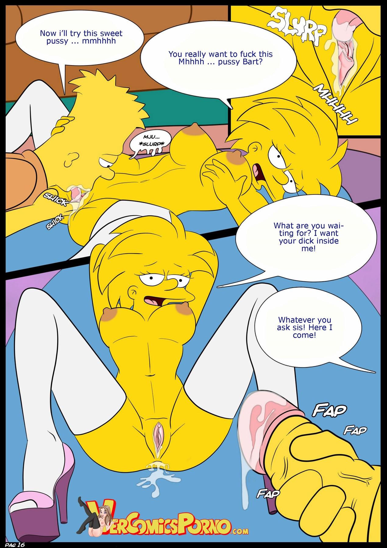 Bart Fucks Lisa Comic the simpsons nude comics online