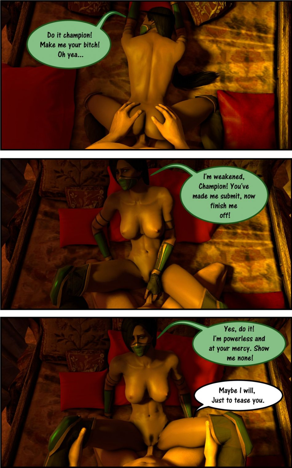 Mortal kombat parody - 3 part 2