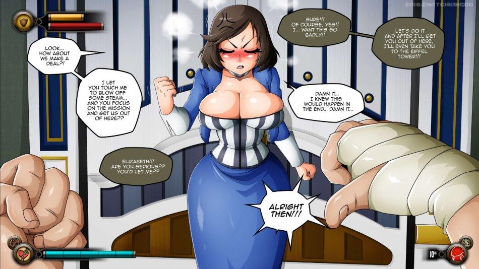 Bioshock infinite порно комиксы