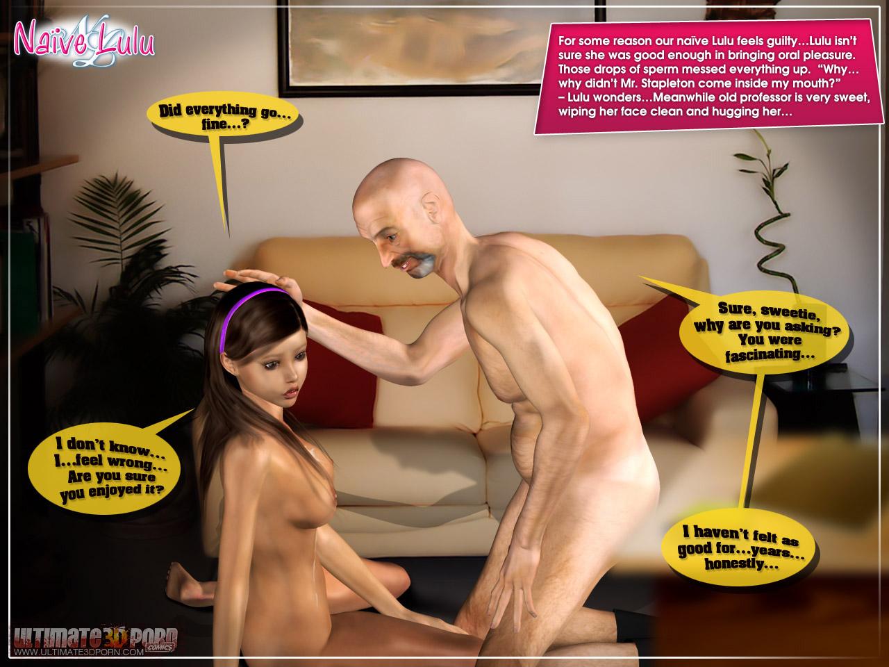 Porn naive 3d lulu hardcore