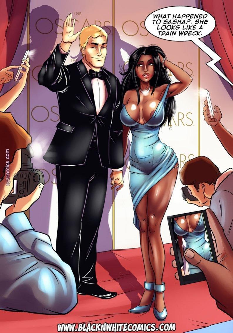 Interracial cartoon porn comics