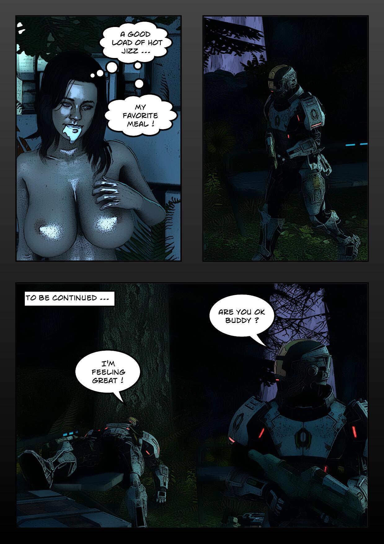 mass effect porn comic