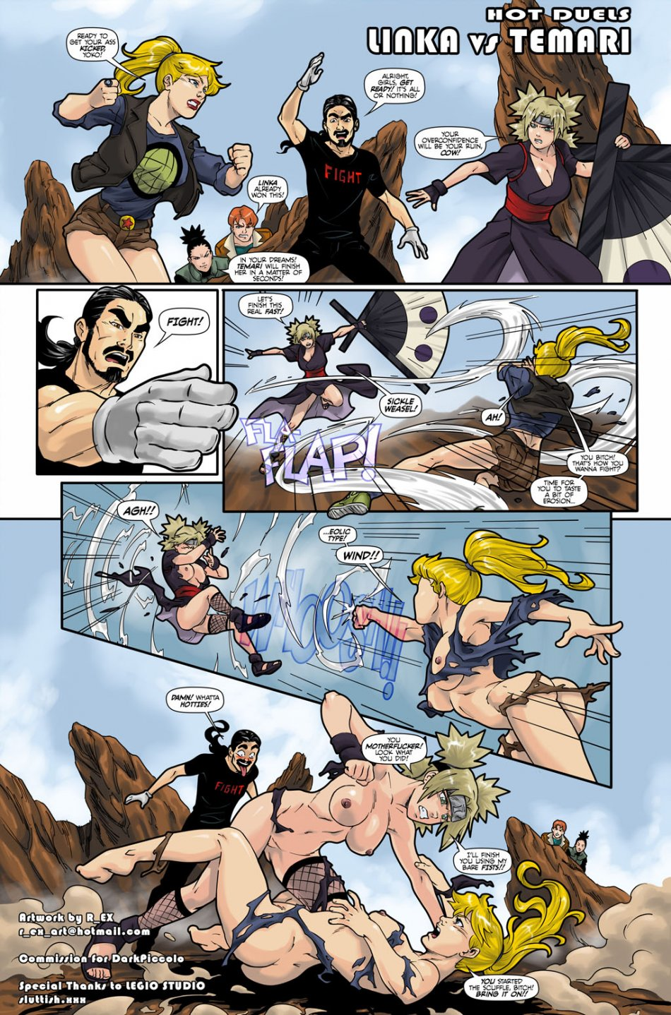 Hot Duels:Temari vs Linka