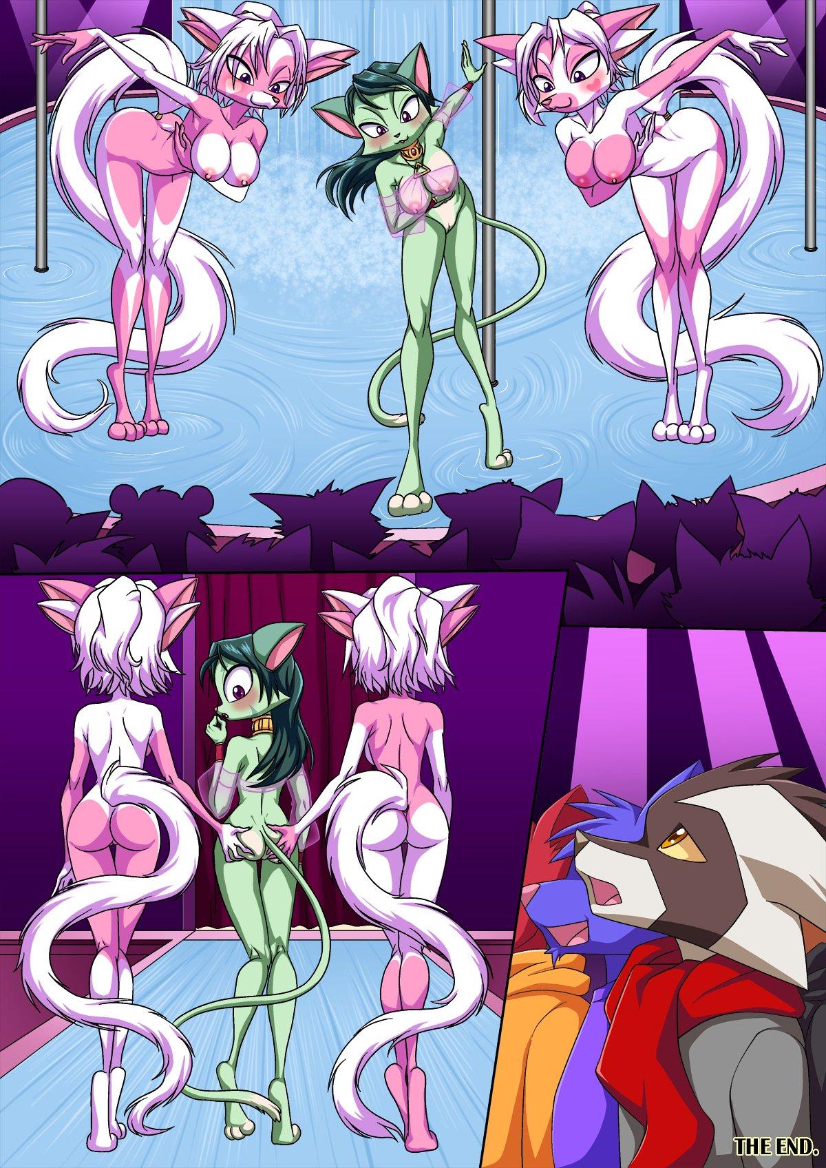 Furry strip game