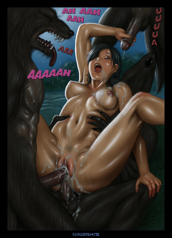 Huge cock makes her orgasm