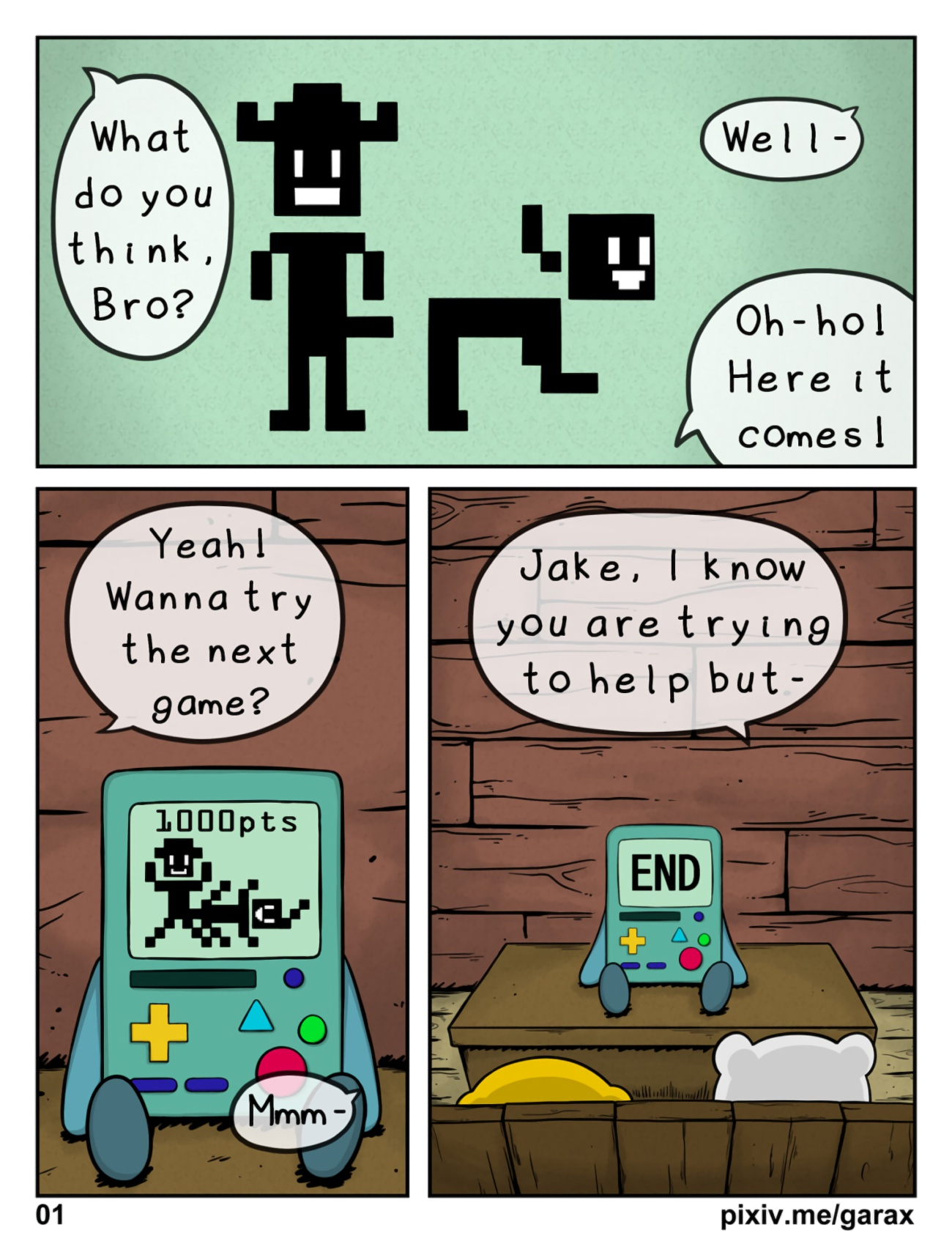 Adventure Time Pirn garabatoz - el finn (adventure time) porn comic
