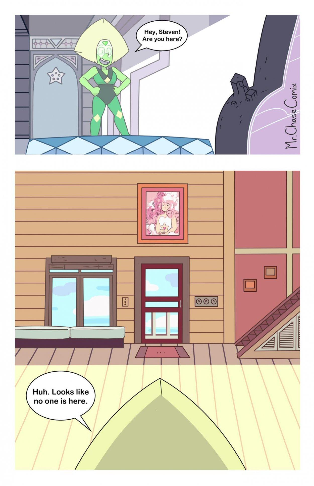 Mr. ChaseComix - Peridots Curiosity (Steven Universe