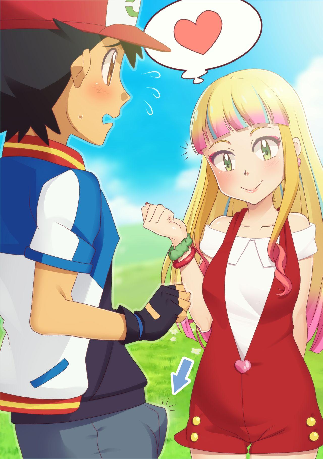 Gazing Eye - Lisa and Satoshi (Pokemon) porn comic